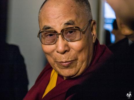 Hans Hellighed d. 14. Dalai Lama besøgte Danmark 10 - 12 februar 2015