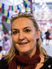 Endelig lykkedes det mig at fange Susanne Blixencrone-Møller og få hende til at stå stille længe nok til at tage et billede.